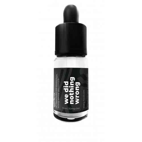 CBD E-Liquid 50mg 10ml
