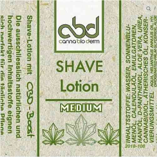 CBD Shave Lotion medium 50ml