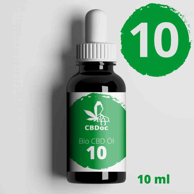 10% CBD Vollspektrum Öl 10ml