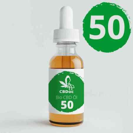 50% CBD Paste in 5ml Dosierspritze bio