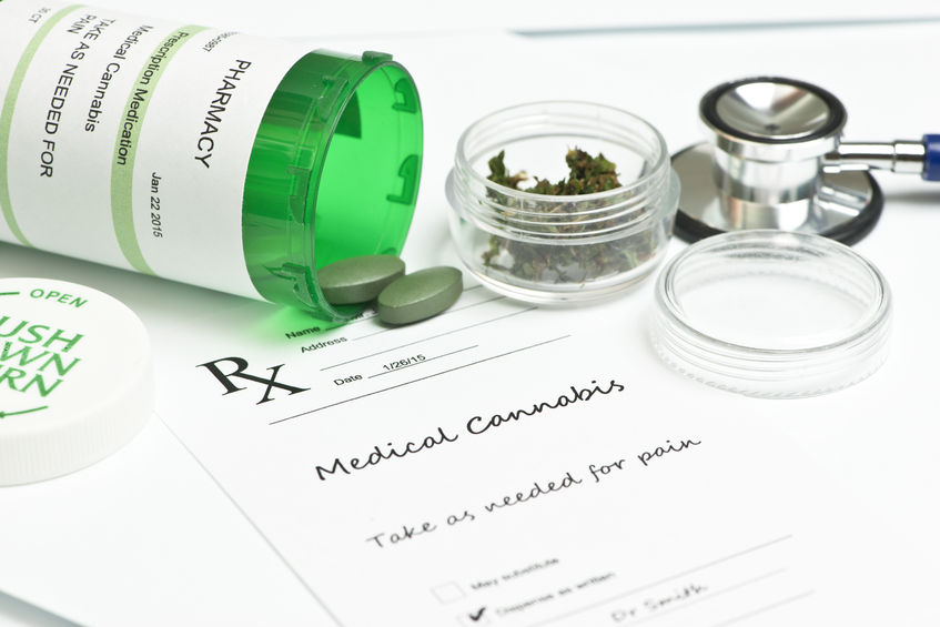 Medical marijuana on prescription